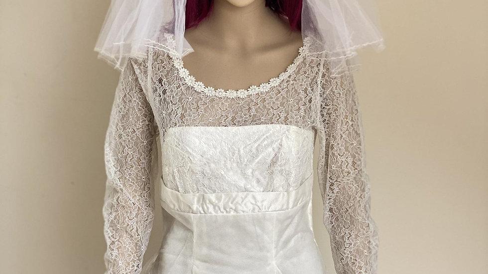 Beautiful Original 1950's Wedding Dress