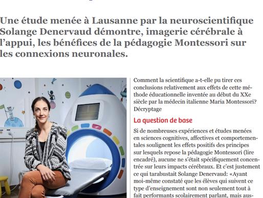 New neuroscientist study (one more!) encouraging Montessori approach