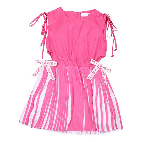 Byblos Milano  Pleated Bow Dress