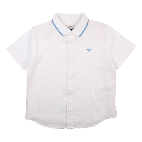 Armani Junior Button-Down Short Sleeve