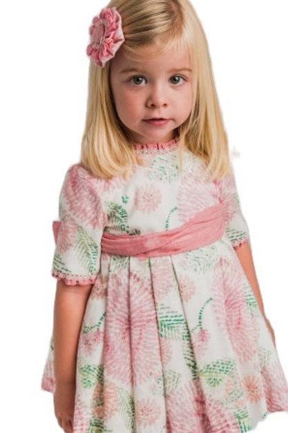 La Ormiga Stamped Pattern Dress