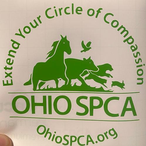 Ohio SPCA decal