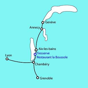 Contact | 73100 Tresserve | Restaurant La Boussole