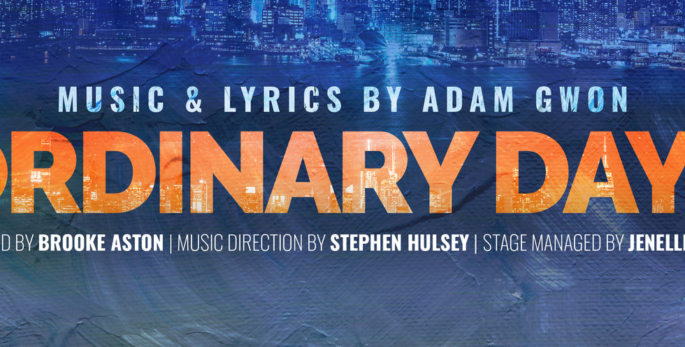 Ordinary Days opens July 24th!