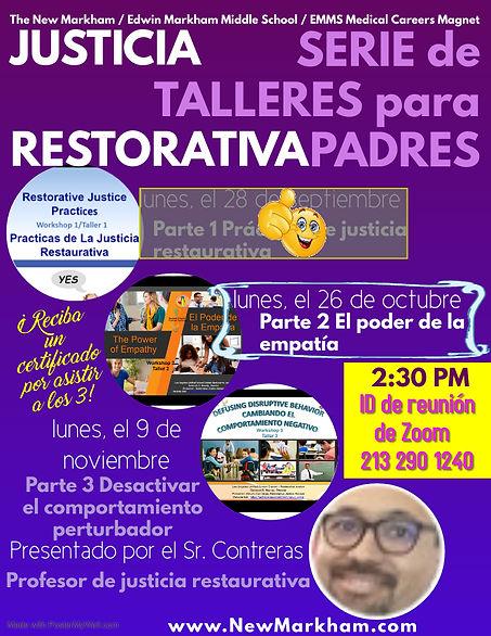 RJ Parent Workshop Series Spanish - Made