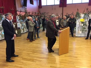INAUGURATION EXPOSITION ANNUELLE DES TROPHEES