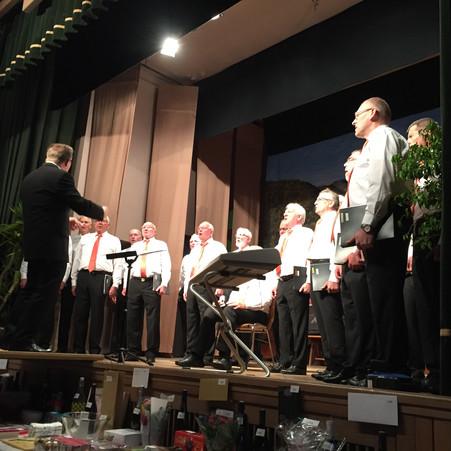 Concert de la chorale Vogésia 1850 de Metzeral