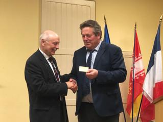 Dernière réception des voeux à HERRLISHEIM pour Gérard HIRTZ
