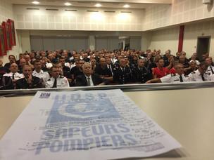 ASSEMBLEE GENERALE DE L'UDSP 68 (UNION DEPARTEMENTALE DES SAPEURS-POMPIERS DU HAUT-RHIN) A SIGOL