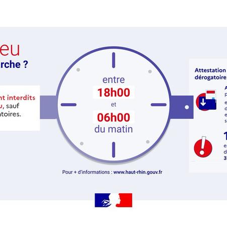 L'AVANCEE DU COUVRE-FEU : UNE NOUVELLE MESURE RESTRICTIVE DE LIBERTE INEFFICACE ?