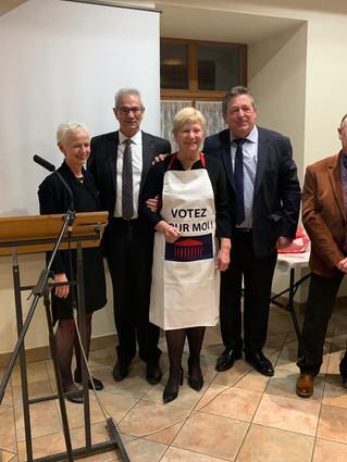 Dernière réception des voeux d'Alain GRAPPE, Maire d'ORSCHWIHR