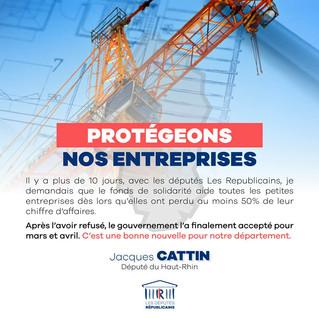PROTÉGEONS NOS ENTREPRISES !