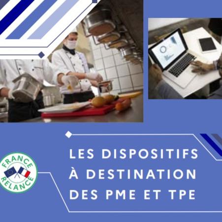FRANCE RELANCE : LE GUIDE DES DISPOSITIFS DESTINÉS AUX PME ET TPE
