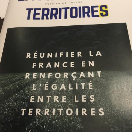 """LANCEMENT DU GROUPE DE TRAVAIL """" LA FRANCE DES TERRITOIRES """""""