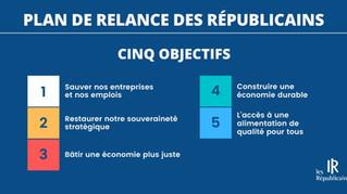 PLAN DE RELANCE DES RÉPUBLICAINS