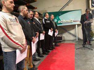 160 ans de l'entreprise SCHMITT de Guebwiller