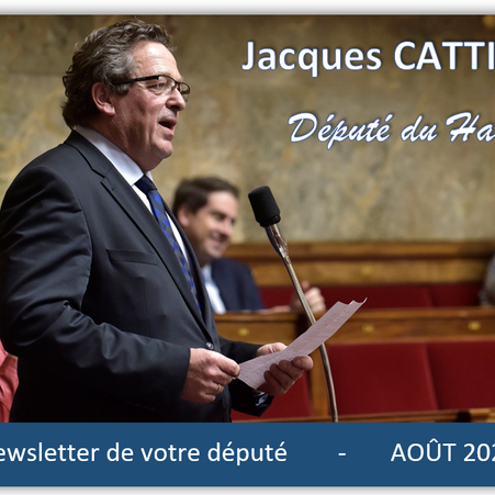 NEWSLETTER AOUT 2021