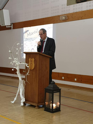 Réception des vœux à PFAFFENHEIM