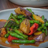 Wok-Fried Green Bean & Eggplant