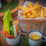 Salted egg fries