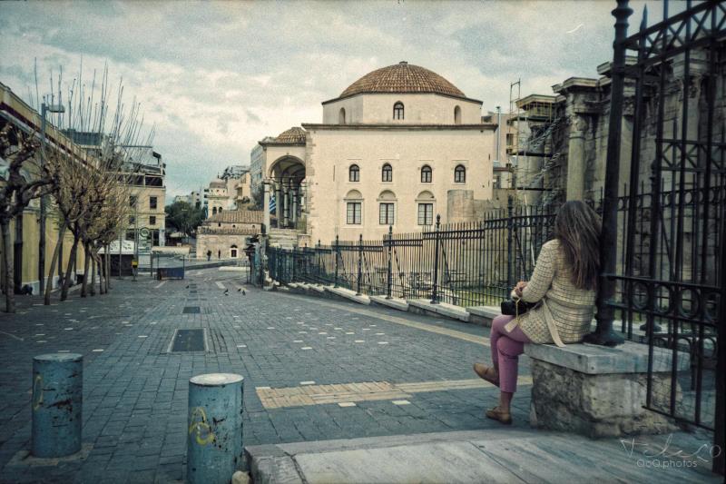 Lockdown corona virus Athens