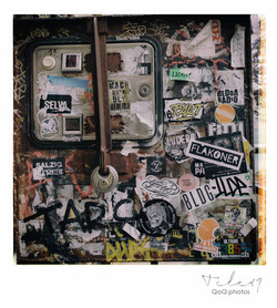 Berlin Rosenthaler strasse graffiti