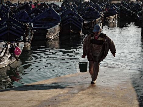 Dans le port d'Essaouira pt. 1