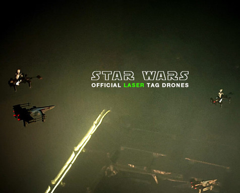 Official Star Wars Laser Tag Drones