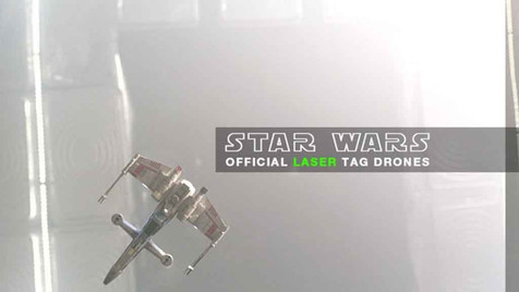 star wars official laser tag drones