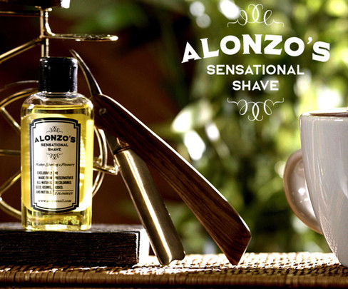 ALONZOS SENSATIONAL SHAVE-