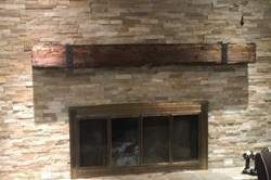 Stone with beam mantle