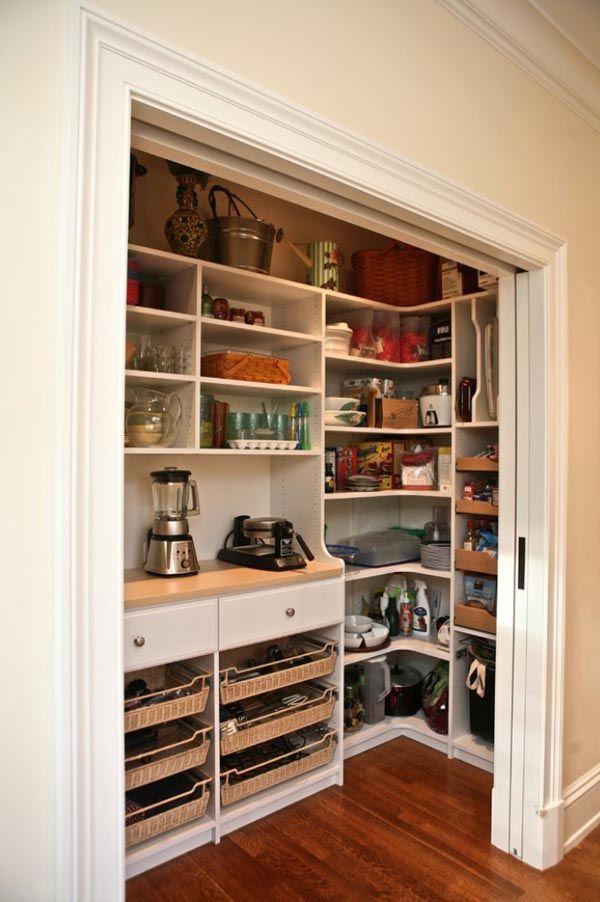 pocket door pantry