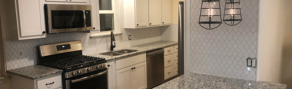 Turning a galley kitchen into an open concept kitchen