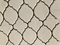 White Lantern Polished Mosaic