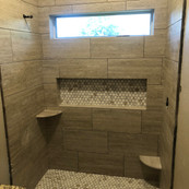 Replacing a tub with a shower