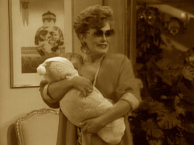 Blanche Devereaux of The Golden Girls is Decidedly Uncomfortable with Motherhood