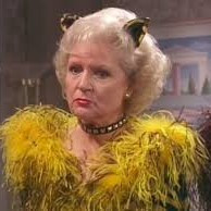 rose nylund as a cat - the golden girls