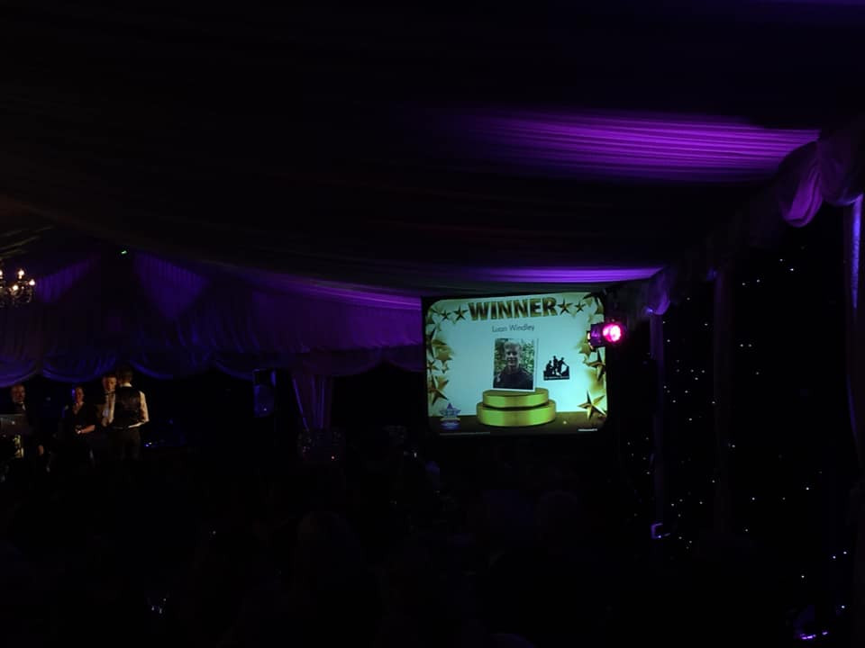 Winner presentation for Young Apprentice of the Year