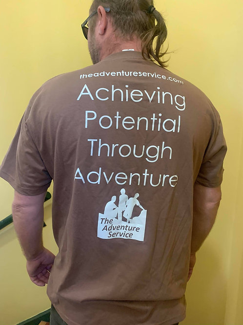 Achieving Potential Through Adventure T-Shirt