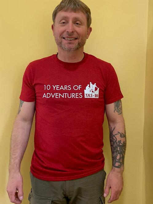 10 Years of TAS T-Shirt