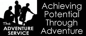 The adventure serivce logo