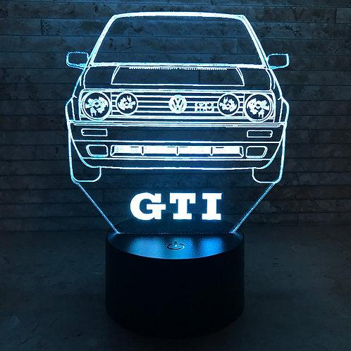 MK2 GTI 3D LED Lamp