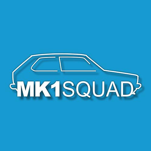 MK1 SQUAD Sticker
