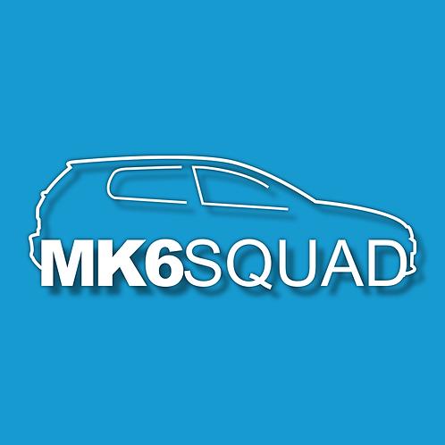 MK6 SQUAD Sticker