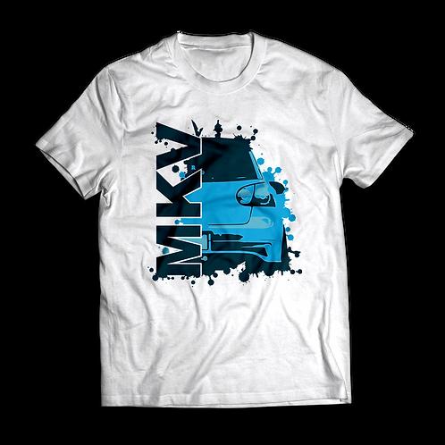 Blue VW Golf MK5 T-Shirt / Tee / Tshirt