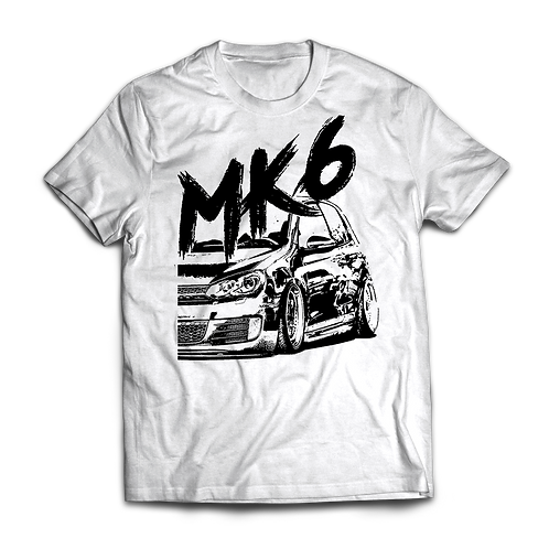 VW Golf MK6 GTI T-Shirt / Tee / Tshirt