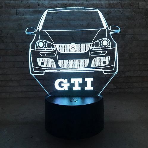 MK5 GTI 3D LED Lamp