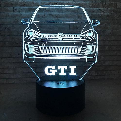 MK6 GTI 3D LED Lamp
