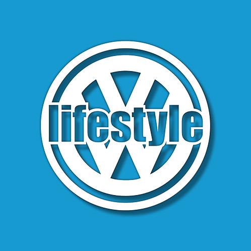 VW Lifestyle Logo Sticker