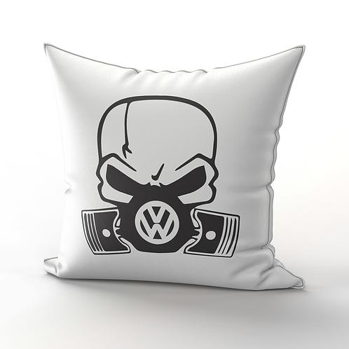 VW Skull Pillow